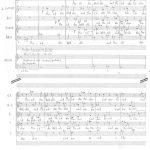 Ivan Eröd, Manuskript – Das Sein ist ewig Op. 50 / © Musikverlag Doblinger, abgebildet mit freundicher Genehmigung des Verlages