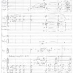 Ivan Eröd, Manuskript – Soirées imaginaires Op. 38 / © Musikverlag Doblinger, abgebildet mit freundicher Genehmigung des Verlages